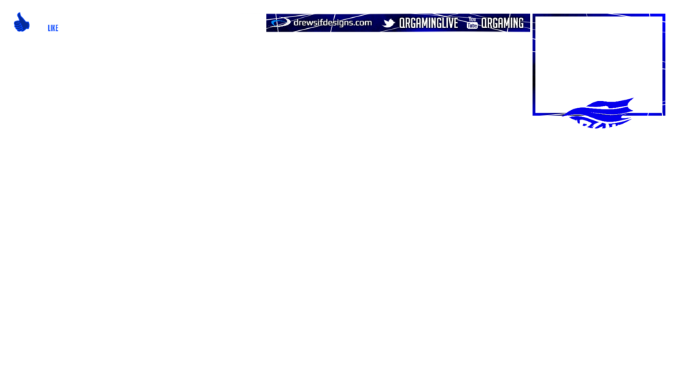 Stream Overlay PNG File