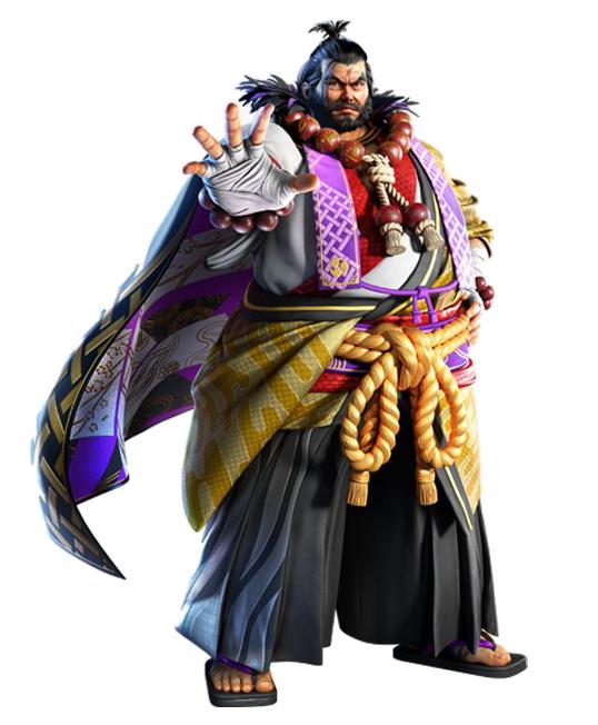 Tekken 7 Character PNG File