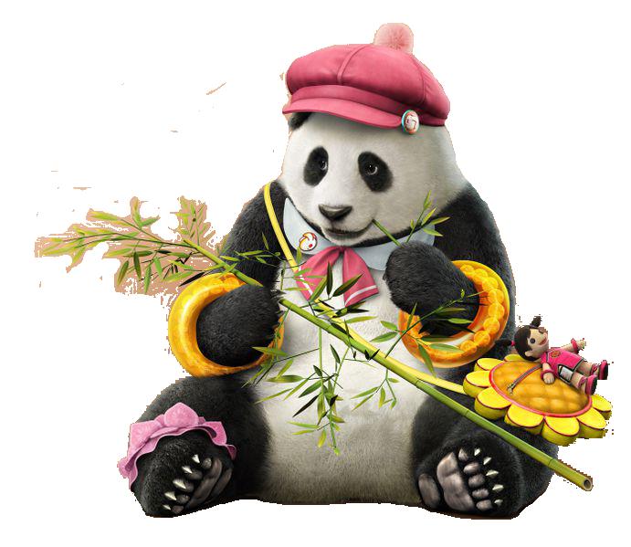 Tekken Panda PNG Pic
