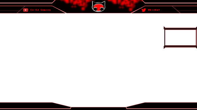 Twitch Stream Overlay PNG File