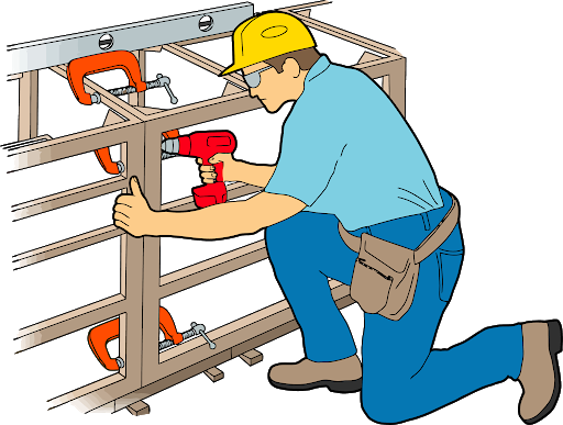 Builder Carpenter Vector PNG Transparent Image