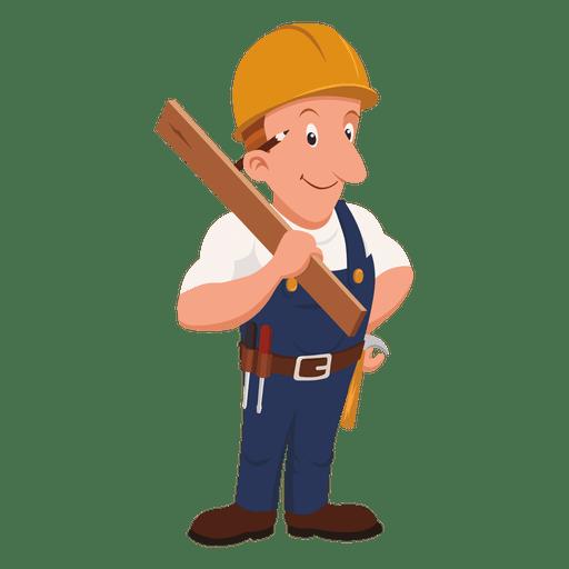 Carpenter Vector PNG Clipart