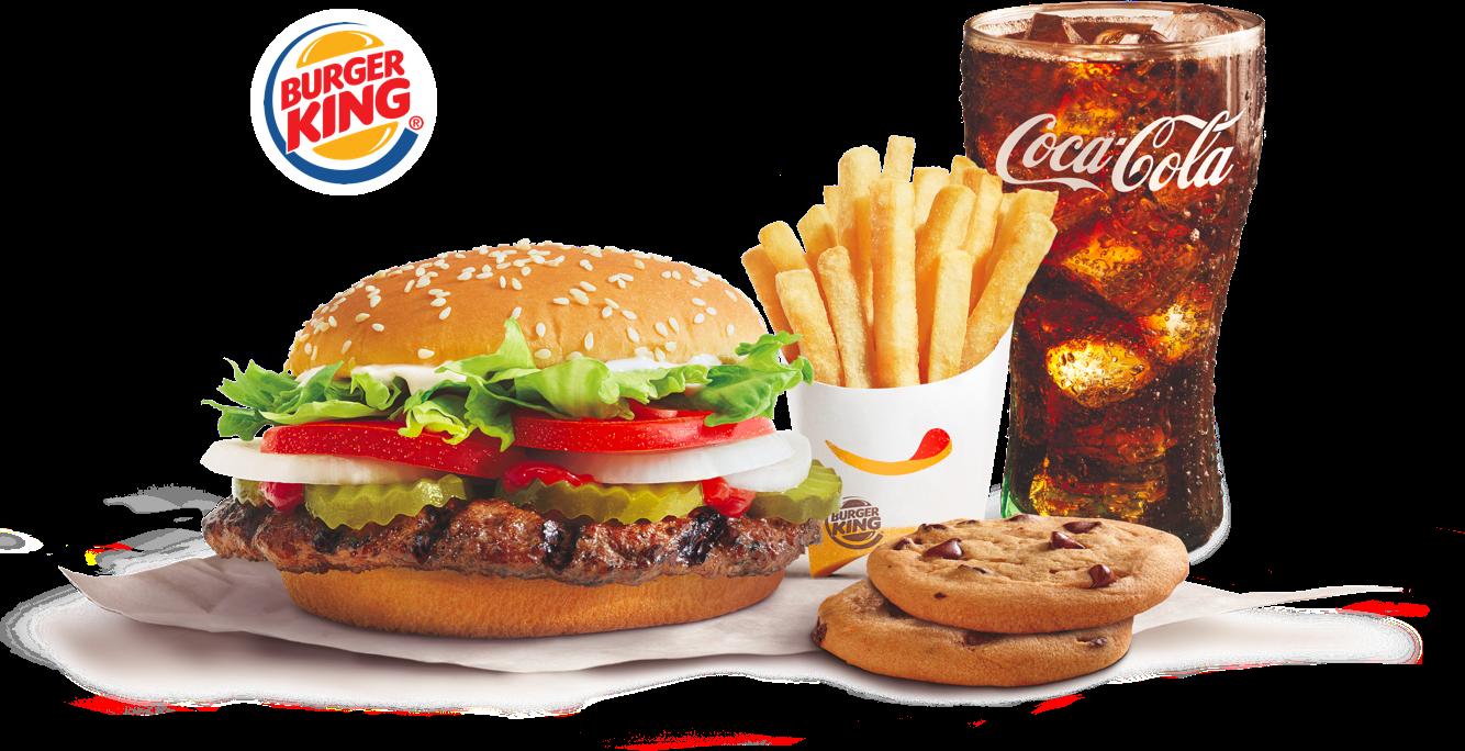 Combo Burger King PNG File