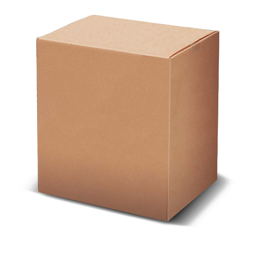 Packed Cardboard Box Transparent PNG