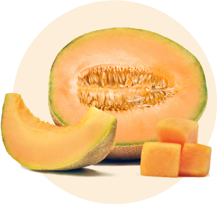 Slice Cantaloupe PNG Clipart