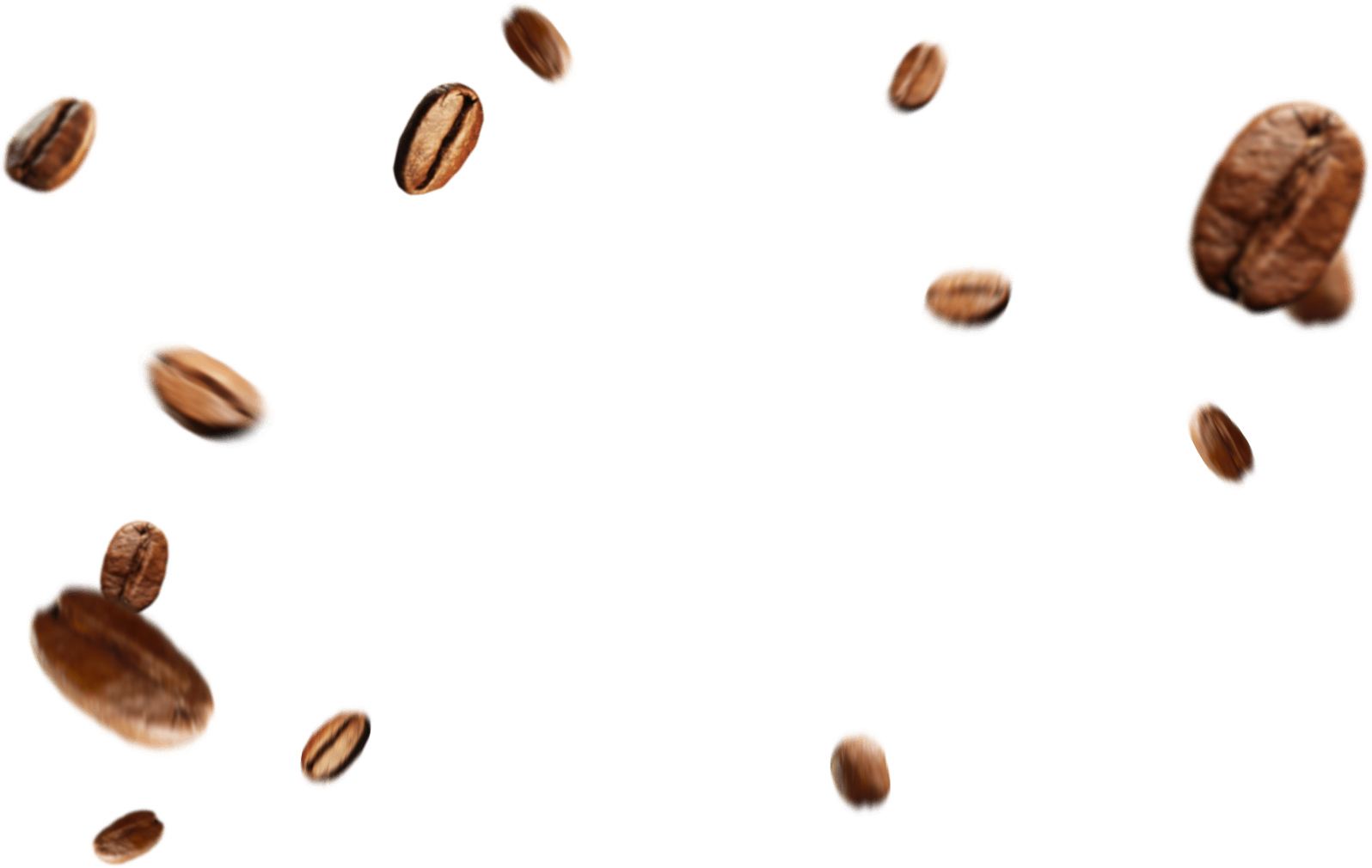 Beans Falling PNG