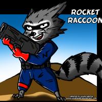 Rocket Raccoon PNG File