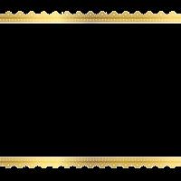 Square Golden Frame Border PNG Clipart