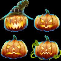 Jack-O-Lantern Background PNG