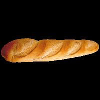 Mixed Grain Italian Baguette Bread PNG Image